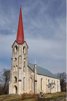St Elizabeth's Church in Lihula