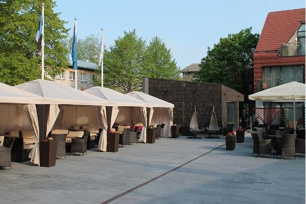Grand Rose SPA terrass