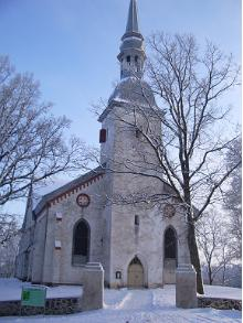 Otep Maarja (St Marys) Lutheran Church