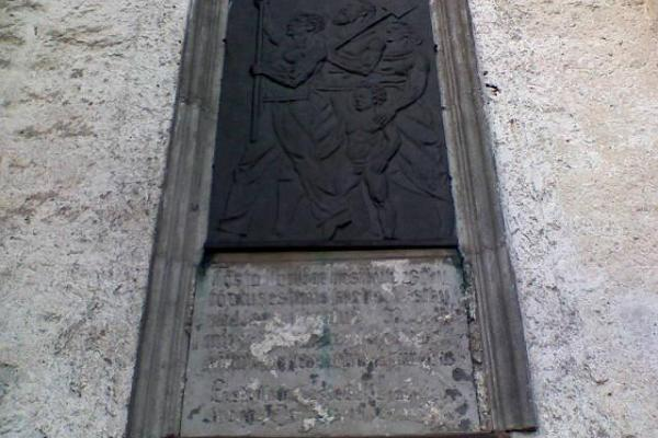 Otepää Maarja (St Mary's) Lutheran Church – bas-relief