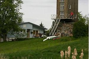 Accommodation in the windmill of Pärna Tourist Farm