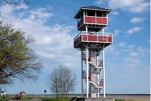 Gulf Tagalaht and Promenade Birdwatching Tower in Haapsalu.