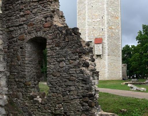 Paide Vallitorn and Castle Ruins