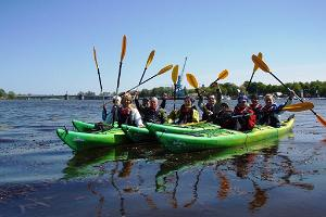 Kayak tour on Pärnu Bay by Seikle Vabaks