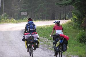 Kärdla-Kõrgessaare-Luidja bicycle route