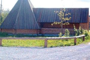 Käbi Guest House and Shooting Range, tepee/barbeque house/conical tent