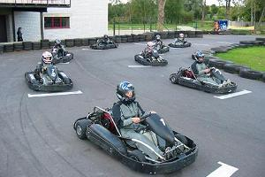 Kart-Center des Hotels Veskisilla
