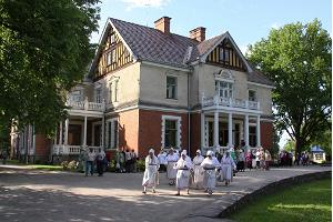 Olustvere Manor is one of the most significant attractions in Viljandi County