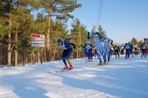 Skiing marathon at Äkkeküla village