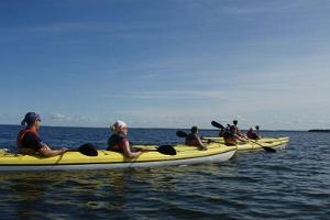 Two-day kayak trip to the islands of Kolga bay