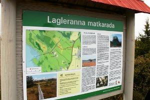 Lagleranna hiking trail