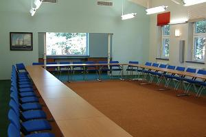 Room on the first floor of the seminar building