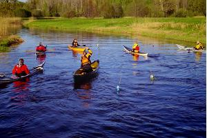 Canoe and kayak rental in Karuskose