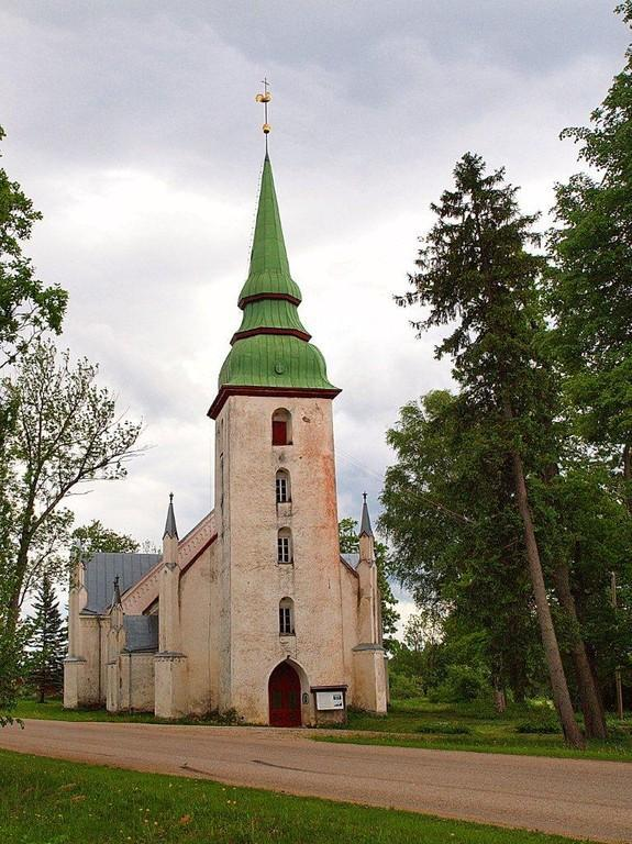 Kursi's Sts. Mary and Elisabeth Church of the Estonian Evangelical Lutheran Church