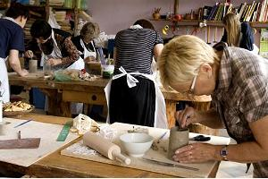 Palmse ceramics workshop