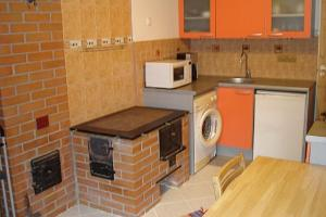 Aisa guest apartment - the kitchen