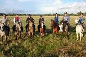 Mounted trips at Juurimaa Stables