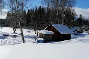 A winter view to the Tamme Farm Complex