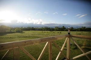 Muhu Farm Winery, balcony