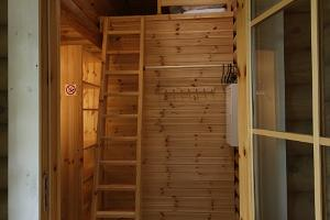 A bunk bed in a Holiday House
