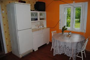 Kitchen in the Nuki farm