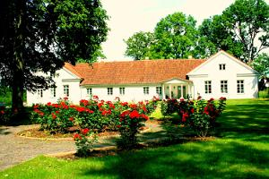 Tori manor in the summer