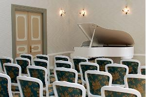 Piano Room in Kukruse manor