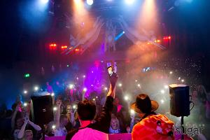 Best parties in Pärnu are held at the Nightclub Sugar