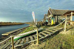 Accommodation in fishing cabins