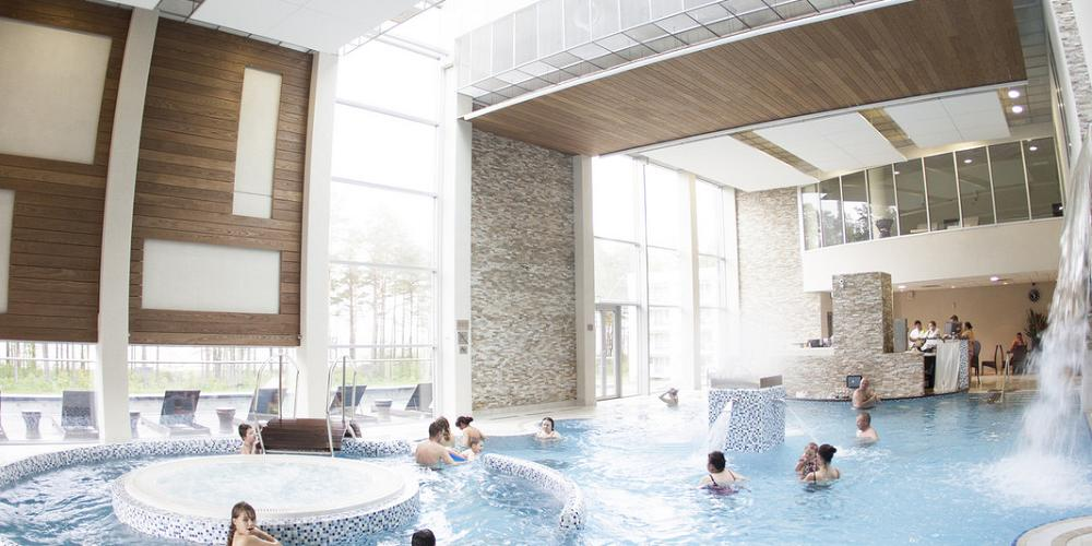 Top 10 unique and luxurious hotels in estonia for Palanga spa design hotel 5