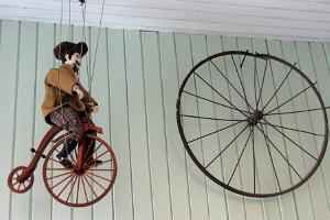 Details at the Estonian Bicycle Museum