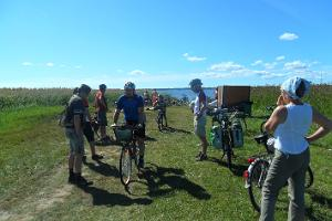 Educational bicycle tours in the beautiful Saaremaa, Muhu, and Abruka