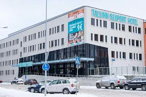 Hestia Hotel Seaport, exterior in winter
