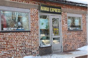 Hawaii Express spordivarustuse rent