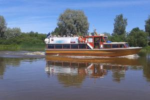 M/l Alfa on River Emajõgi