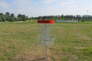 Disc golf tracks at the arboretum of Tähtvere Leisure Park