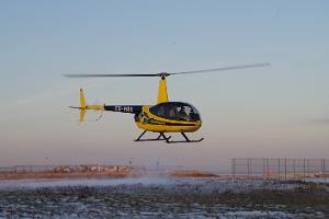 Experience flights on a helicopter