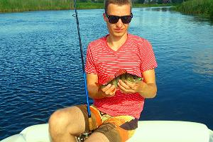 Fishing in Võõpsu on the River Võhandu