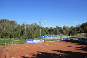 Pivarootsi Windmill, tennis court