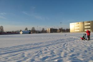 Ice rink at the Haapsalu Stadium