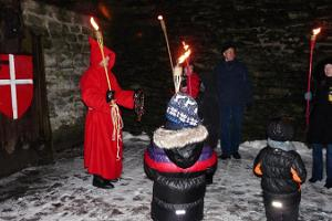 Tales of the Red Monk – costumed, evening excursion in Tallinn's Old town