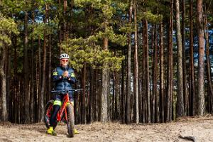 Trips on kick bikes and mountain bikes in Kõrvemaa