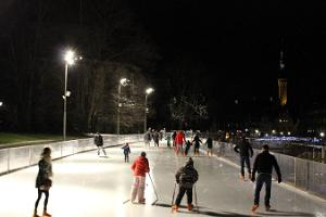 Ice rink on Harju Street, Tallinn