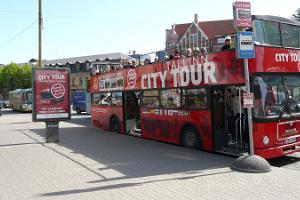 Tallinn City Tour Hop On Hop Off. Red Line – city centre