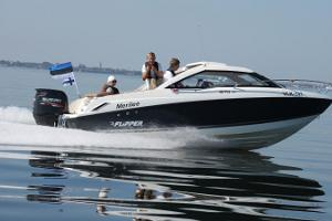 Speedboat trip on Tallinn Bay