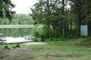 Äntu Lakes – swimming spot at Valgejärv