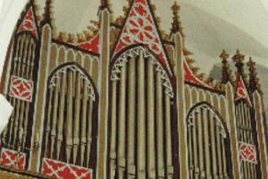 Simuna church, organ