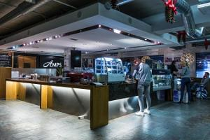 AMPS cafe in Rocca Al Mare