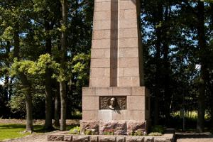 Monument and memorial park devoted to Konstantin Päts, the first president of Estonia
