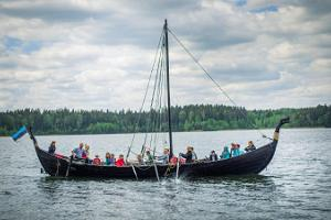 "Voyages on the Viking ship ""Turm"""